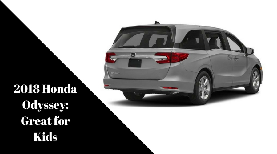 Why The 2018 Honda Odyssey Is Great For Kids Honda Of Seattle Blog