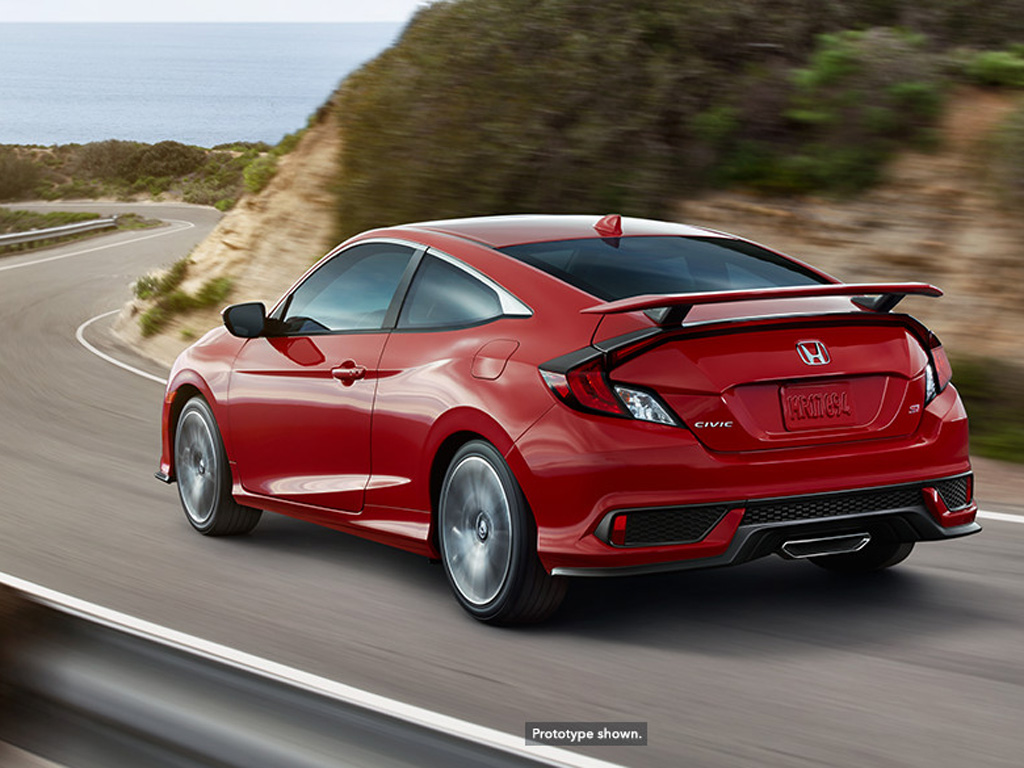 All new 2017 honda civic si goes big on style performance for Honda of seattle service