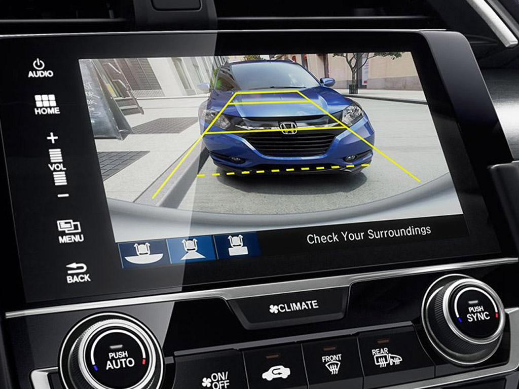 Studies show backup cameras help reduce accidents honda for Honda of seattle service