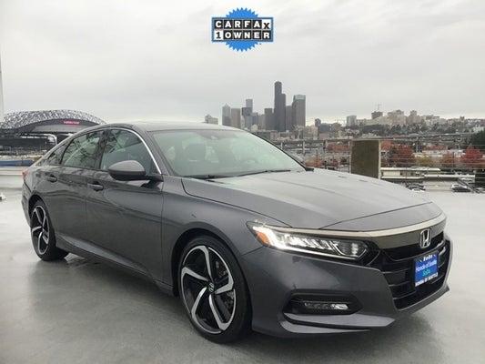 Used Honda Accord >> 2019 Honda Accord 4d Sedan Sport 2 0t