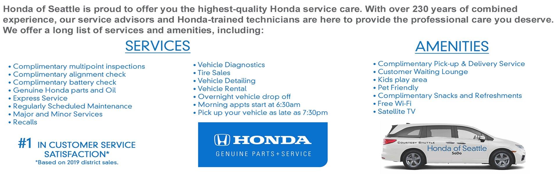Honda Of Seattle >> Honda Dealer In Seattle Honda Of Seattle